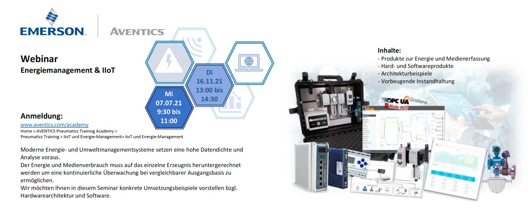 WEBINAR: Energiemanagement & IIoT
